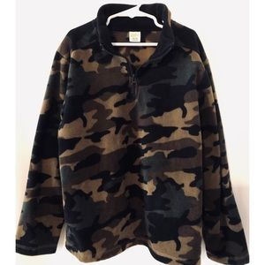 Crazy 8, Boys camouflage fleece size 7-8